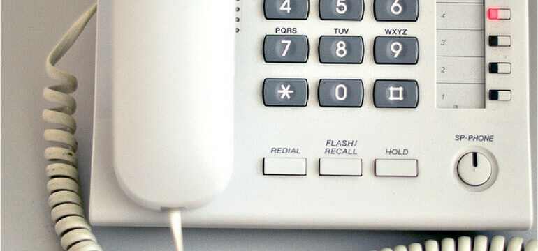 Telefonsystem med pris Close Up
